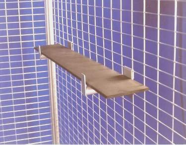 Face Out Bars with Shelf